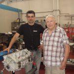 Mr. Renato Armaroli one of the best Italian racing engineer