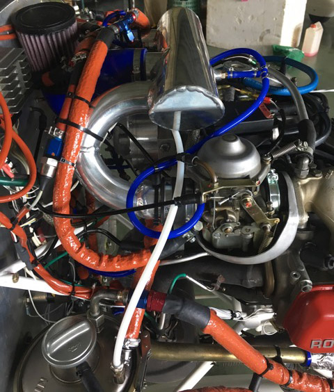 "Centrifugal Supercharger Subaru: Rotax Without ""ring Mount"""