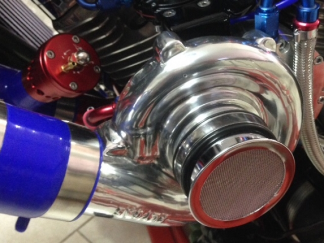 motorcycle turbocharger 12