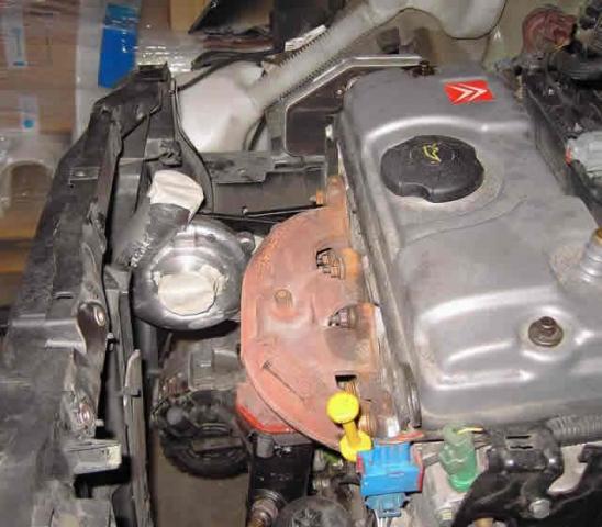 GAS SUPERCHARGER on Citroen C2