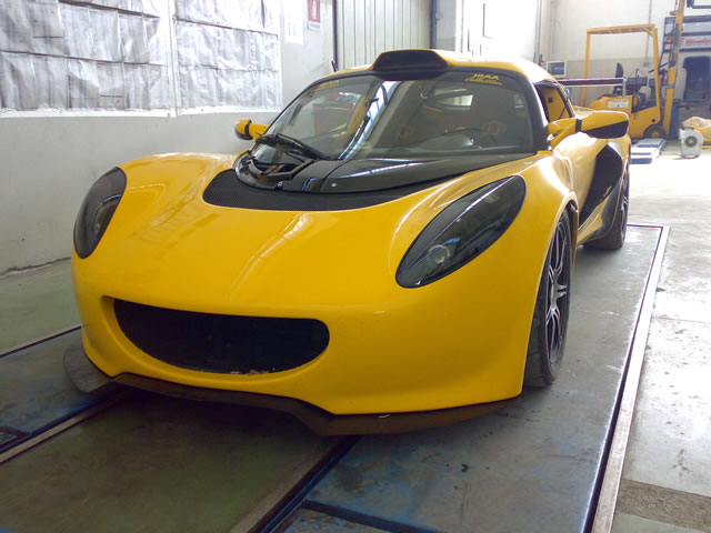 GAS SUPERCHARGER on Lotus